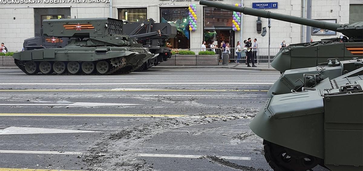 Tverskaya Street bude uzavretá budúci víkend kvôli výmene asfaltu